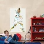 Lionel Messi poster wall design
